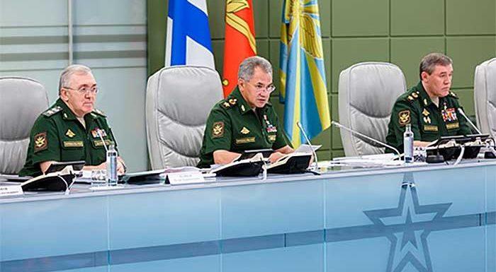 Шойгу на селекторном совещании сказал о повышении денежного довольствия, военных пенсий и о оплате труда ГП МО