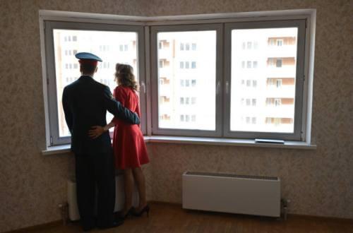 Военным дадут дополнительные метры положенного жилья