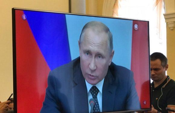 Видеообращение Путина по пенсионной реформе в 12.00 в среду 29 августа