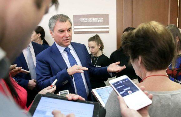 Володин рассказал, как его мама купила квартиру, а Навальному дали 30 суток