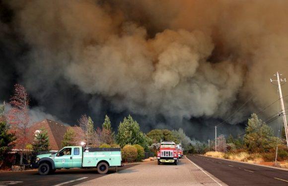 Пожар в Калифорнии. Новости и видео последнего часа