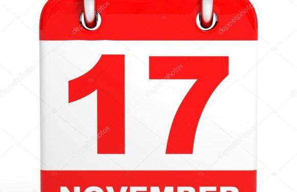Что отмечаем сегодня 17 ноября в субботу?