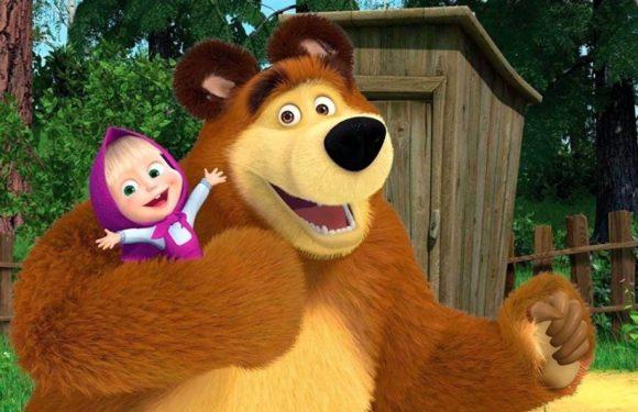 Смотреть новые серии мультика «Маша и Медведь», которые стали «средством пропаганды»
