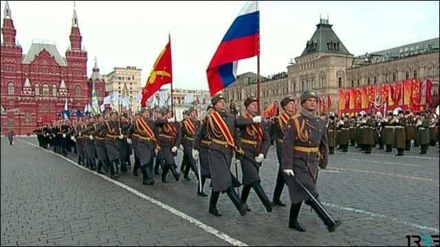 Полная запись парада на Красной площади 7 ноября 2018 года