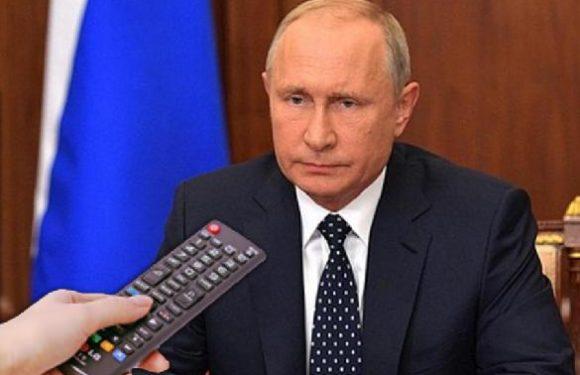 Прямой эфир Деловой России с выступлением Путина